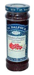 St. Dalfour lekvár francia recept szerint, gránátalma-málna 284 g