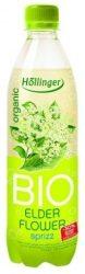 Höllinger Bio gyümölcsfröccs bodzavirág 500 ml