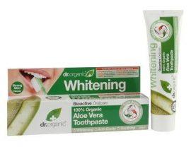 Dr. Organic Bio Aloe Vera fogkrém 100 ml -- NetbioHónap 2019.01.31-ig 10% kedvezménnyel