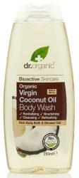 Dr. Organic Bio Kókuszolaj, Tusfürdő Bio szűz kókuszolajjal 250 ml