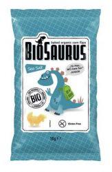Biopont Biosaurus Kukoricasnack Sós 50 g -- NetbioHónap 2020.01.28-ig 10% kedvezménnyel
