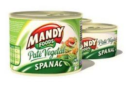 Mandy növényi pástétom, spenótos 200 g