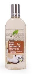 Dr. Organic Bio Kókuszolaj, Sampon bio szűz kókuszolajjal 265 ml
