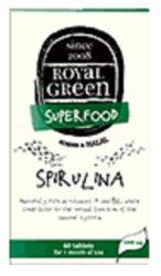 Royal Green Spirulina Tabletta 60 db