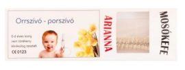 Arianna orrszívó-porszívó, mosókefe
