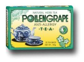 Dr. Chen Pollengrape Anti allergy tea 20 filter -- készlet erejéig, a termék lejárati ideje: 2021.05.16.