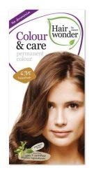 Hairwonder hajfesték, Colour & Care 6.35. Mogyoró 100 ml