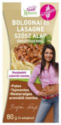 Szafi Fitt Porlap Bolognai És Lasagne 80 g