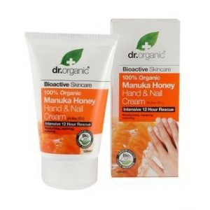Dr. Organic Bio Manuka mézes kéz és körömápoló krém 125 ml