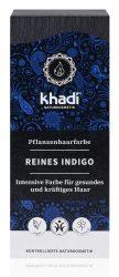 Khadi Növényi hajfesték por, Kékesfekete - indigó 100 g