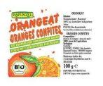 Rapunzel Bio alapanyagok sütéshez, kandírozott narancshéj kukoricasziruppal 100 g