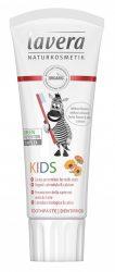 lavera Basis Sensitiv fogkrém gyerekfoggél eper-málna 75 ml