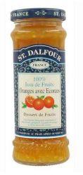 St. Dalfour lekvár francia recept szerint, narancs 284 g