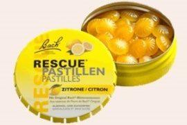 Bach Rescue Pasztilla, Elsősegély Pasztilla citromos ízben 50 g