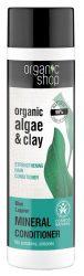 Organic Shop Erősítő balzsam bio alga és agyag kivonattal 280 ml -- NetbioHónap 2019.09.26-ig 20% kedvezménnyel