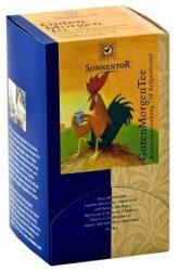 Sonnentor adagoló dobozos Bio teák, jó reggelt tea 27 g