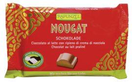 Rapunzel Bio csokoládé, Cristallino nugátos csokoládé 100 g