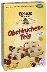 Bauckhof Bio süteménykeverék, gyümölcsös süteménykeverék, gluténmentes 400 g
