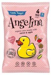 Biopont Bio Kukoricás Snack Angelina 4x15 g