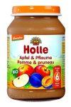 Holle Bio gyümölcsös bébiétel, alma-szilvával bébiétel  190 g -- készlet erejéig, a termék lejárati ideje: 2020 decembere