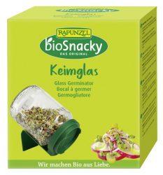 Rapunzel bioSnacky Csíráztató üvegedény fedéllel (környezetbarát anyagból)