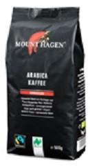 Mount Hagen Bio pörkölt kávé, Arabica őrölt, Fair Trade 500 g