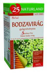 Naturland Bodzavirág Tea 25 db filter