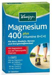 Kneipp Magnézium 400 Plusz Tabletta 30 db