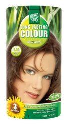 HennaPlus női tartós hajfesték, barna árnyalat, mogyoró (6.35) (Long Lasting Colour, Hazelnut)