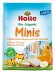 Holle Bio gyümölcsszelet mini, banán-narancs 100 g