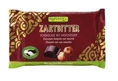 Rapunzel Bio csokoládé, Cristallino félédes csokoládé mogyoróval 60%-os 100 g