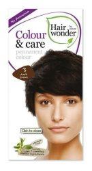 Hairwonder hajfesték, Colour & Care 3. Sötétbarna 100 ml