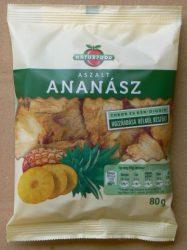 Naturfood Aszalt Ananász cukor nélkül 80 g