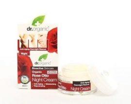 Dr. Organic Bio Rózsa Éjszakai krém 50 ml