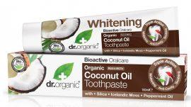 Dr. Organic Fogkrém Bio kókuszolajjal 100 ml