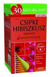 Naturland Csipkebogyó-Hibiszkusz Tea 20 db filter -- NetbioHónap 2019.12.29-ig 20% kedvezménnyel