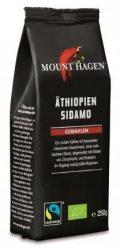 Mount Hagen Bio Kávé, őrölt, pörkölt, Etiópiai Sidamo 250 g