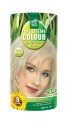 HennaPlus női tartós hajfesték, szőkés árnyalat, ezüstszőke (10.01) (Long Lasting Colour, High Light Silver Blond)