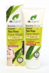 Dr. Organic Bio Teafa arclemosó 200 ml