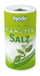 Byodo só, fűszeres atlanti tengeri só szóródobozban 125 g