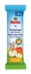 Holle Bio gyümölcsszelet babáknak, alma-banán 25 g