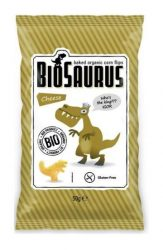 Biopont Biosaurus Kukoricasnack Sajtos 50 g -- NetbioHónap 2020.01.28-ig 10% kedvezménnyel