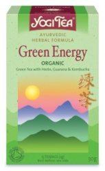 Yogi zöld tea, Zöld energia 17 filter 30 g - Bio tea