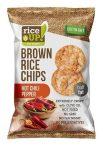Rice Up Barnarizs Chips Csípős Chilis 60 g
