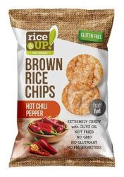 Rice Up Barnarizs Chips Csípős Chilis 60 g