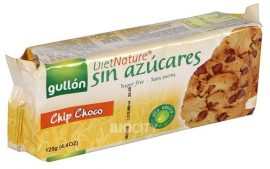 Gullon Diabetikus Csokidarabos Cookies Keksz 125 g