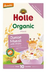 Holle Bio több magvas junior müzli gyümölccsel, demeter 250 g