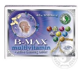 Dr. Chen B-Max Multivitamin Tabletta 40 db