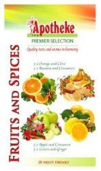 Apotheke Fűszeres Gyümölcsteák 20x2g