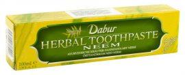 Dabur ayurvédikus fogkrém, Neem (zöld) 100 g